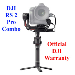 DJI RS 2 Pro Combo Gimbal Stabilizer Payload 4.5kg (Ronin S 2 RS2)