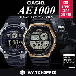 *APPLY SHOP COUPON* [CHEAPEST PRICE IN SPORE] AE1000 Digital Watches Series. Free Shipping!