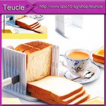 Amazing Loaf Bread Toast Sandwich Slicer Cutter Mold Maker Kitchen Guide