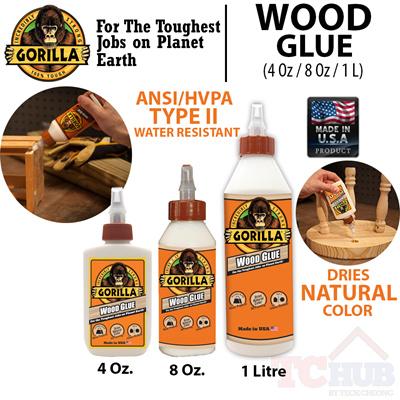 Vmall Gorilla Wood Glue Dries Natural Color No Foam Pva