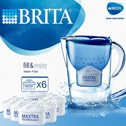 100% Authentic BRITA Marella 3.5L Water Filter Jug Refills / Genuine Replacement Cartridge