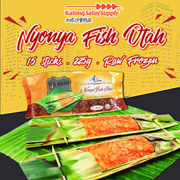 Nonya Fish Otah [ 15pcs] [Raw Frozen]