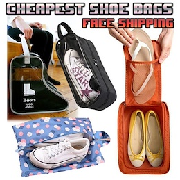[ORTE] Shoe Bags Sale $4.50★Factory Price★Boots Storage★Travel Bag★Kids Shoes Bags★Free Shipping