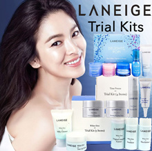 FREE SHIPPING + FREE GIFT Laneige Time Freeze Delights Pop White Dew Trial Kits