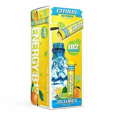 Zipfizz Healthy Energy Drink Mix, Hydration with B12 and Multi Vitamins,  Citr    [Direct from USA]