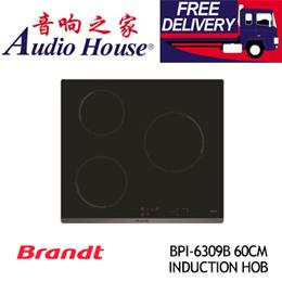BRANDT BPI-6309B 60CM INDUCTION HOB