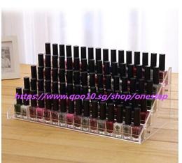 Nail polish storage rack Acrylic transparent frame Nail Polish plastic holder Cosmetic storage box N