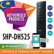 Samsung Door Lock SHP-DH525 Lever Handle Come With Mobile Control Via Bluetooth