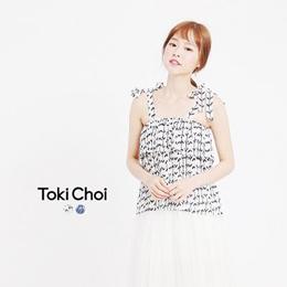 TOKICHOI - Tie Strap Pleated Top-6018681-Winter