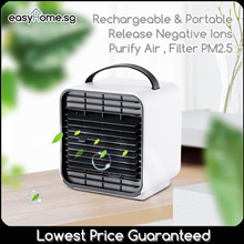 Ion Air Conditioning Fan/ Rechargeable / Portable /Release Negative Ions/ Purify Air  Filter PM2.5