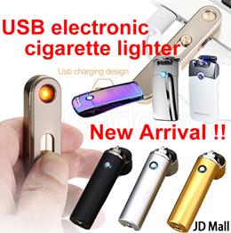 [JD Mall]★SG-Seller★Cigarette Lighter /Rechargable USB Electronic Lighter/Fidget spinner lighter