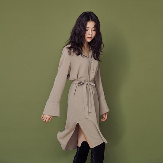 メグジェイMAGJAYのブラウスワンピースJ92NOP501 面ワンピース/ 韓国ファッション
