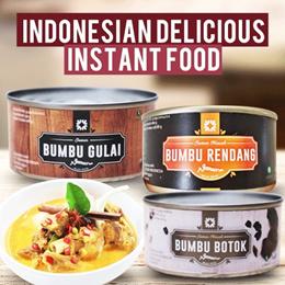 INDONESIAN DELICIOUS INSTANT FOOD - MUSHROOM CUISINE/ GUDEG AND KRECEK