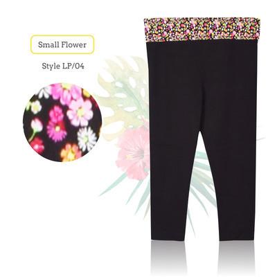 Yoga 7/8 Pants_Small Flower
