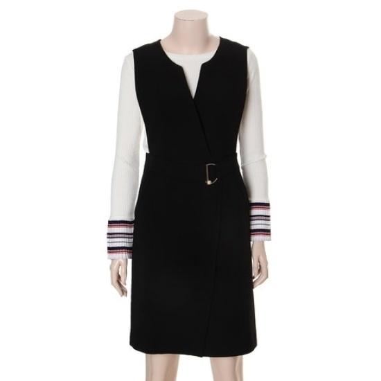 さんカディゴンスタイルベルトポイントワンピースSROAX2507 面ワンピース/ 韓国ファッション