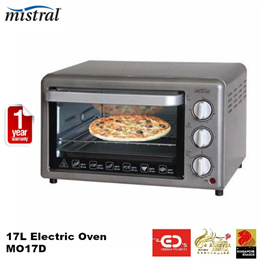 Mistral 17L Electric Oven - MO17D (1 Year Warranty)