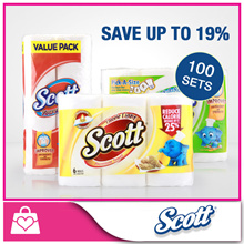 [1+1]Scotts Kitchen Towels [BUNDLE OF 2]● Thick and High absorbency ●