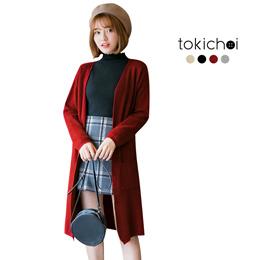 TOKICHOI - Open Knit Cardigan-6028605-Winter