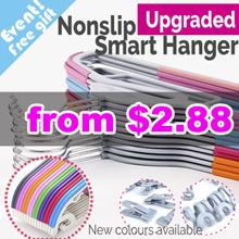 ◆Local Fast shipping◆ Non slip Smart Hanger / velvet hanger / Clothes Holder /  Non slip hanger