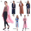 New Collection / Outer Long Size / Lawrance Maxi Cardigan / Outer / Maxi Cardigan / Avail 5 Colour / Best Price