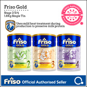 [FRISO] Friso Gold 2/3/4 1.8kg  | Made in Netherlands for SG | Only Official Friso on Qoo10