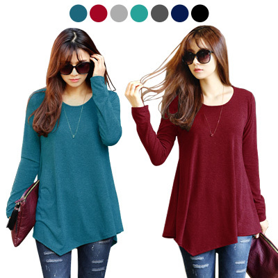 4ebe09324f5  PLUS SIZE  KOREA STYLE ☆LOOSE FIT STYLE TOP COLLECTION   SUPER SOFT SPANDEX