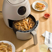 XIAOMI Japanese style multifunctional air fryer log apricot large capacity air fryer