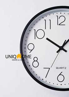 ★Free Delivery★Japan Design Matte Wall Clocks by UniqHome★Silent Movement★