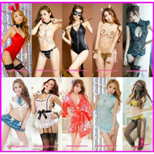 Costume Collection Cosplay Nightwear Sleepwear Sexy Lingerie Dress Pajamas V1