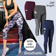 [AMAZON BEST SELLER] Sport Yoga pants with side pocket