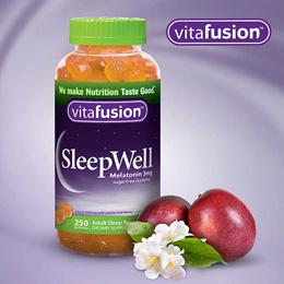 미국 비타퓨전 슬립웰 편안한 수면비타민  250젤리 구미 vitafusion SleepWell 250 Gummies