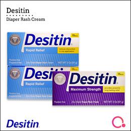 [JnJ]【Bundle of 2】Desitin diaper rash - Maximum Strength Paste/ Rapid Relief Cream