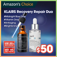 33% OFF [Klairs]  Recovery Repair: Klairs Blue drop + Vitamin drop + 10 fre