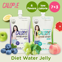 [CALOBYE] 1+1+1 EVENT!!!!! 30PACK $9.9!!! Water Jelly/No sugar/Low calories/baby snack/kfood