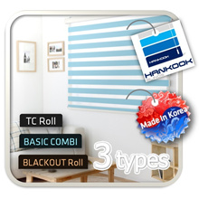 ★New New★Best Price | - Options★ 3 Types Roller Blinds | TC normal roll | Basic Combi roll  | Black