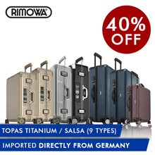 [RIMOWA] TOPAS TITANIUM / SALSA / LIMBO(NEW W/ ELECTRONIC TAG!) (AUTHENTIC!) 5 years Global Warranty