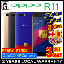 Oppo R11 / Local 2yrs Official Warranty / 4gb ram / 64gb rom / Cases and Screen Protector Included.