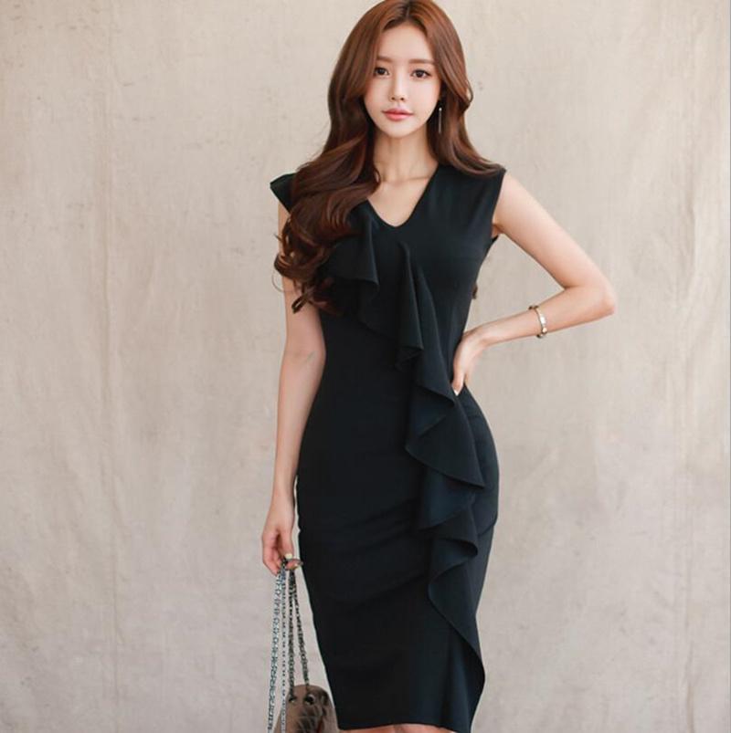 [55555SHOP]レディース ワンピース 新作 ベアトップ  パーティー ファッション OL ドレス