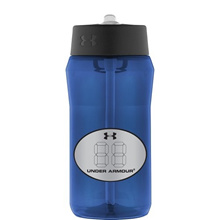 Under Armour Locker Tag 18 Ounce Tritan Bottle with Straw Top Lid