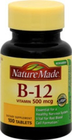 4501b3c6a61 Qoo10 - Vitamins Nature Made Vitamin B-12 500 Mcg