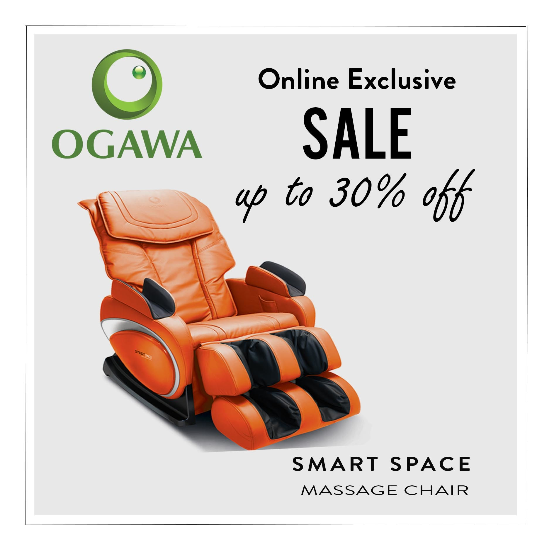 Qoo10 OGAWA SMART Space XD Tech Massage Chair Household & Bedding