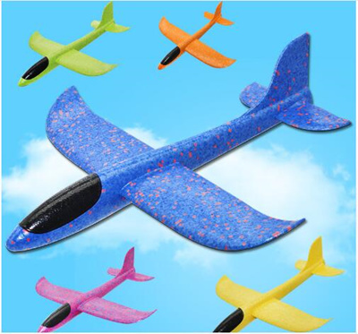 7224230d9 2019 DIY Hand Throw Flying Glider Planes Toys For Children Foam Aeroplane  Model Party Bag Fillers