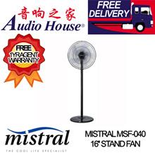 MISTRAL MSF-040 16 STAND FAN *** 2 YEARS MISTRAL WARRANTY ***