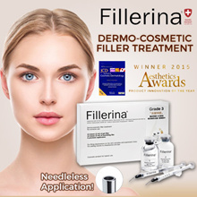 FREE DAY CREAM [SPECIAL SUPER SALE] FILLERINA DERMO-COSMETIC FILLER TREATMENT Grade 2/Grade 3