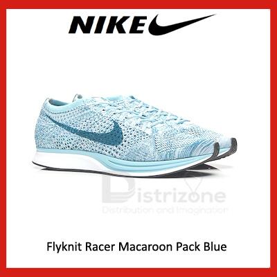 e641b764de82 Nike Flyknit Racer Macaroon Pack Blue (Code  526628 102) (Preorder)