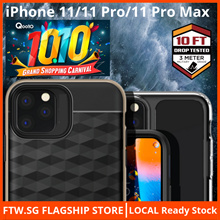 [MILITARY GRADE!!] iPhone 11/11 Pro/11 Pro Max Ringke® X-Doria Full Protection Case Tempered Glass