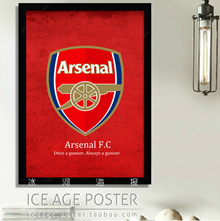 Arsenal Football team logo decorative painting painting living room dining room, coffee shop, bar ha