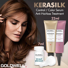 ♠ Goldwell Kerasilk Serum ♠ Control Serum 22ml ♠ Color 22ml ♠ Anti-Hairloss Treatment 7ml ♠