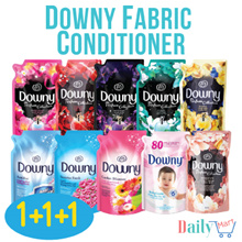 Downy Laundry Softener 1+1+1 Refill Pack. Anti-Bac/Passion/Romance/Sunrise Fresh/Mystique/Sweetheart