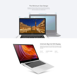 CHUWI Lightweight&Ultra-thin LapBook PC Notebook Laptop Intel Atom X5 Z8350 64-bit Quad Core 1.44GHz